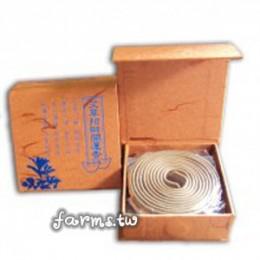 花壇鄉艾農 艾草-艾草薰香20環香(每片直徑約6.5公分)*1盒