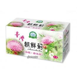 [大雪山農場] 台灣朝鮮薊茶包(雞鵤刺茶包)(雞角刺茶包)30包*1盒/原價300~買6盒送一盒,買12盒送3盒,買24盒送8盒,買48盒送20盒~保存2年,保存期至2020年10月