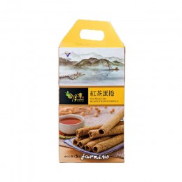 [魚池鄉農會]紅茶蛋捲禮盒(5入)-提供紙盒,自行組裝
