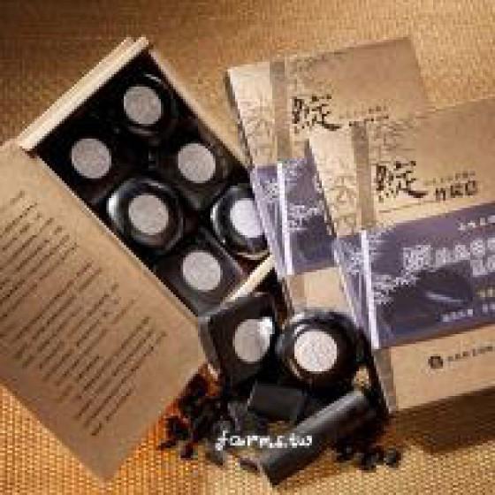 [名間鄉農會] 綻~竹炭皂(6顆)*1盒~保存2年,保存期至2020年1月