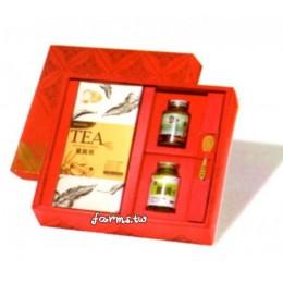 [薑麻園-神農薑麻] 美好薑來~嚴選薑黃茶(2.5g*18小包)*1盒+嚴選薑黃粉50g*1瓶+薑黃王50g*1瓶