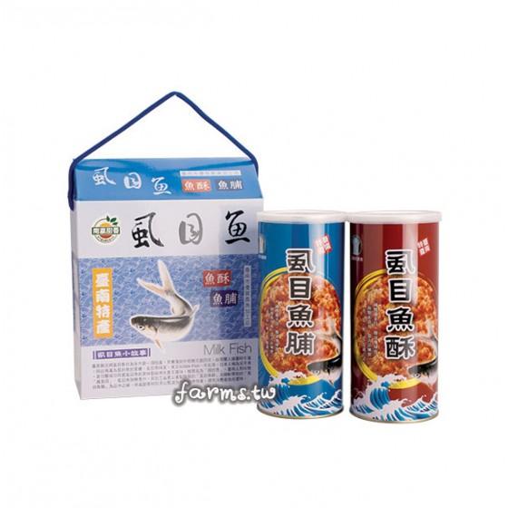 [台南市農會]虱目魚酥(脯)禮盒