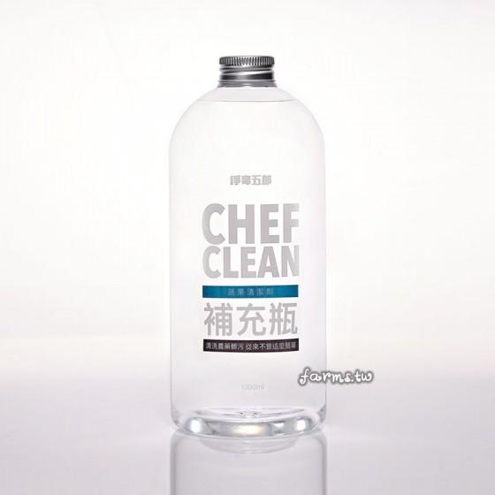 [淨毒五郎]蔬果清潔劑補充瓶-1000ml
