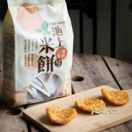 [池上鄉農會]池上米餅(醬燒口味)-106g袋裝
