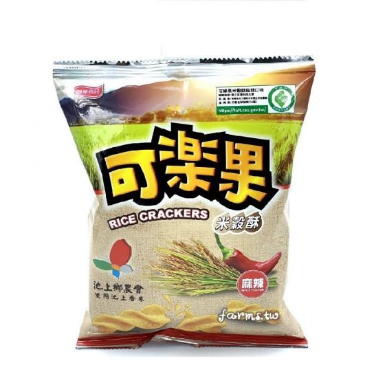 [池上鄉農會]米穀酥可樂果(麻辣)-72g袋裝
