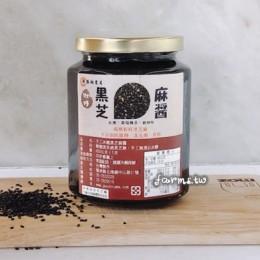 [北港新勝裕]微甜黑芝麻醬-450g玻璃瓶裝