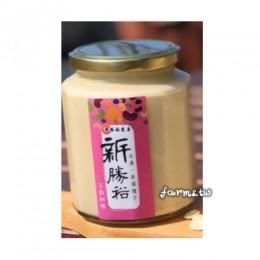 [北港新勝裕 兩種口味任選]杏仁醬-450g玻璃瓶裝