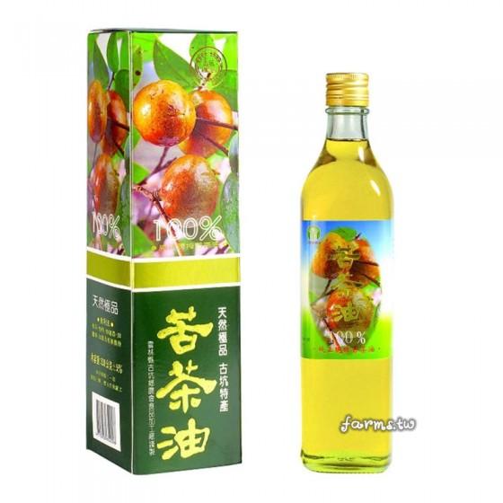 [古坑農會]100%純苦茶油-520ml