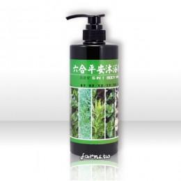 [名品農產行]六合平安沐浴乳(清涼型)750ml