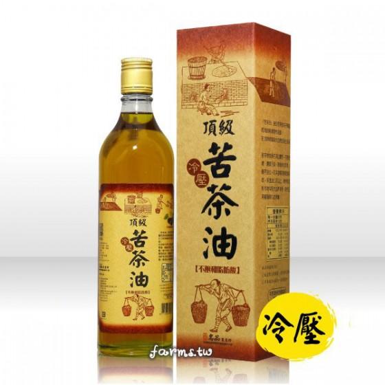 [名品農產行]頂級冷壓苦茶油600ml