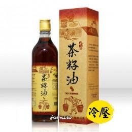[名品農產行]冷壓烏龍茶籽油600ml