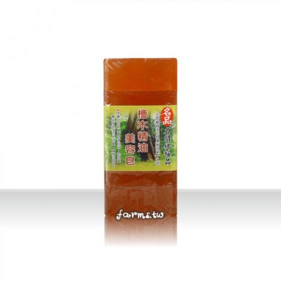 [名品農產行]檜木美容皂500g(內切5塊)