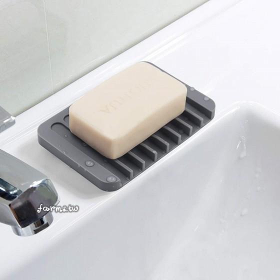 [十六色任選]矽膠防滑肥皂架