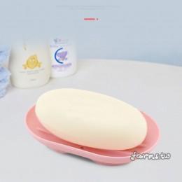 [七色任選]橢圓矽膠防滑肥皂架