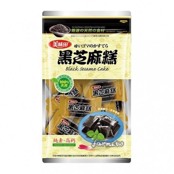 [美味田]黑芝麻糕-原味450g