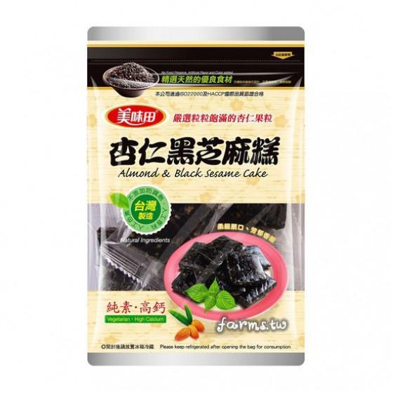 [美味田]黑芝麻糕-杏仁300g