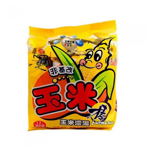 [義竹鄉農會-兩種口味任選]心意足玉米棒-100g